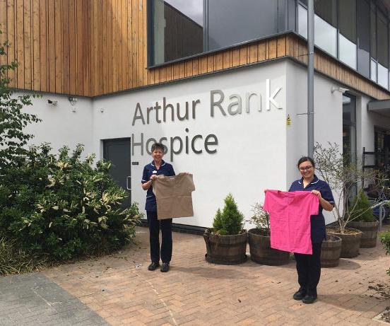 Scrubs at Arthur Rank Hospice Charity